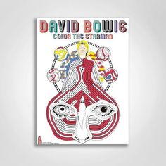 Spend Some Quality With David Bowie Coloring Book