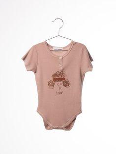 Bobo Choses - John short-sleeved baby bodysuit
