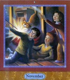 Harry Potter Calendar, November 05_calendar_11nov