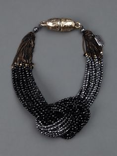 ROSANTICA necklace (love the two-tone effect!)