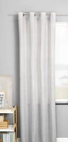 Gordijn GRAVMYRT 1x140x245 licht grijs Ramen, Curtains, Shower, Modern, Net Curtains, Rain Shower Heads, Showers, Tents, Drapes Curtains