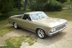 1966 Chevrolet El Camino - one of our absolute favorites. Too bad they do not revive this baby. After the Camaro, Firebird, Mustang, GT40 etc are enjoying their revival in retro design, we are sure this car would find a ton of buyers.