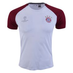 Bayern Munich Europe Training Jersey  ☆ 2016/17 UEFA Champions League ☆  The Jerseys, Apparel & Gear available now at WorldSoccerShop.com