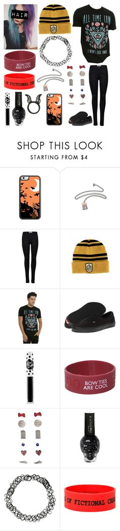 """""""Style #382"""" by katlanacross ❤ liked on Polyvore featuring ONLY, Vans, Lime Crime and Disney"""