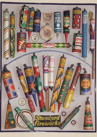 "Old fireworks.when I was a child, my pocket money went to purchasing fireworks which I kept in my bedroom in preparation for ""Cracker Night"" ! My Childhood Memories, Childhood Toys, Standard Fireworks, Vintage Fireworks, Guy Fawkes Night, Bonfire Night, My Memory, Memory Album, I Remember When"