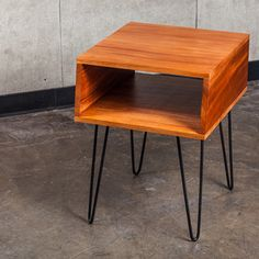 Side Table 5' Mahogany Black, $439, now featured on Fab.