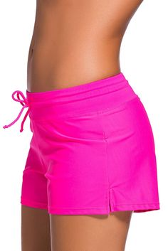 Women's Clothing, Swimsuits & Cover Ups, Board Shorts,Women's Waistband Swimsuit Bottom Boy Shorts Swimming Panty – – – Bell-bottoms Black High Waisted Bikini, High Cut Bikini, Black Bikini Tops, Womens Tankini, Tankini Swimsuits For Women, Plus Size Swimsuits, Fashion Swimsuits, Board Shorts Women, Swim Shorts Women