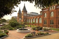 The Arts and Industries Building is the second oldest of the Smithsonian museums on the National Mall in D.C. Initially named the National Museum, it was built to provide the Smithsonian with its first proper facility for public display of its growing collections. The building was designed by architects Adolf Cluss and Paul Schulze, opened in 1881, hosting an inaugural ball for President James A. Garfield. Architectural style: Late Victorian. Renovation started in 2011 (still in progress)