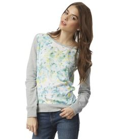 Charmeuse Front Sweatshirt from pinner: aeropostale