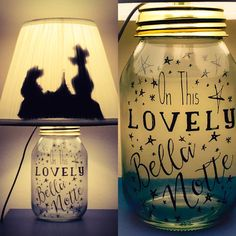 Hey, I found this really awesome Etsy listing at https://www.etsy.com/listing/242211712/lady-and-the-tramp-inspired-mason-jar