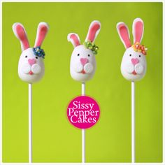 Easter Bunnies Easter Bunny, Cake Pops, Bunnies, Stuffed Peppers, Desserts, Food, Meal, Cakepops, Rabbits
