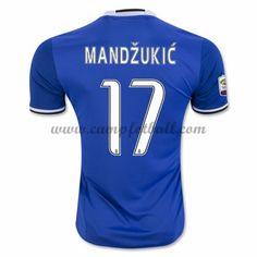 Juventus Fotballdrakter 2016-17 Mandzukic 17 Bortedrakt