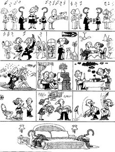 Marriage, with rare, notably rare exceptions (by Quino)