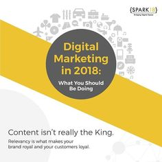 [INFOGRAPHIC] Digital Marketing in 2018 From finding the right audience to carving out the content strategy, here's what is vital to include and correct in your Digital Marketing Strategy for 2018. Check out the Link In Bio for the complete infographic. . . . #content #contentmarketing #digitalmarketing #marketing #marketingstrategy #infographic #contentstrategy #engagingcontent #socialmedia #socialmediamarketing #digitalmarketingstrategy #2018 #2018goals #Spark18