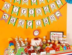 "The Very Hungry Caterpillar / Birthday ""The Very Hungry Caterpillar"" 