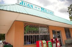 Juan In a Million, Austin, TX--best breakfast that I have ever had. And the salsa/guacamole were phenomenal!  Perfect combo. Regardless of the crazy birds that circle your food, I am forever a Don Juan lover♥