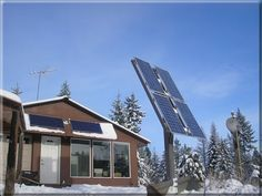Solar powered, energy efficient, earth sheltered home
