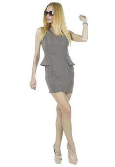 Rochie Dama Sensation  Rochie dama ce se muleaza frumos pe silueta. Design modern ce va va scoate din anonimat.     Latime talie: 35cm  Lungime: 76cm  Compozitie: 70%Poliester, 25%Vascoza, 5%Elasten Peplum Dress, Modern, Dresses, Design, Fashion, Vestidos, Moda, Trendy Tree, Fashion Styles