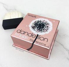pinterest: @lilyosm | dandelion benefit highlighter matte shine makeup