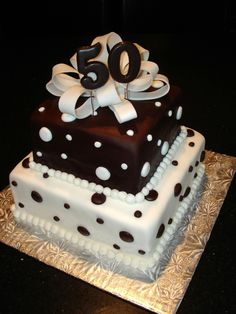 50th birthday cake | ... Galleries - Say It With Cake! Specialty Cakes, Cupcakes & Desserts