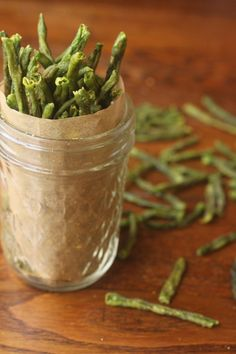 Dehydrated Green Bean Chips.