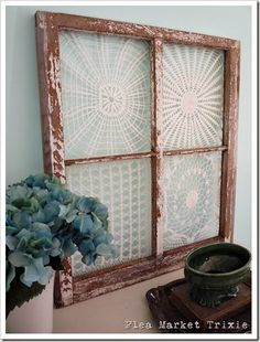 DIY Thursday: What to Do with Old Windows