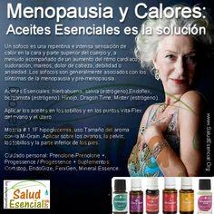 La aromaterapia puede reducir los efectos del síndrome premenopáusico en la mujer.