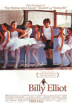 Billy Elliot!! One of my top Five movie endings of all time. (Adam Cooper you rock adult Billy)