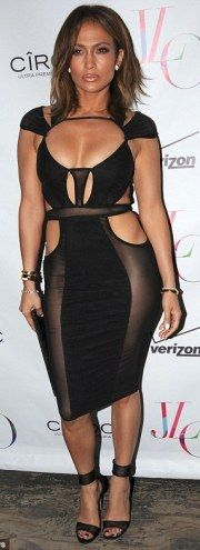 Welcome to Trend N Gist: Jennifer Lopez wears see-through dress as she cele...