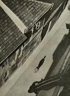 Josef Sudek - Vicar's Lane, date unknown  From Josef Sudek: Poet Of Prague