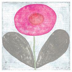Sugarboo Designs Art Print Happy Flower @Sarah Nasafi Grayce #laylagrayce and #suryarugs