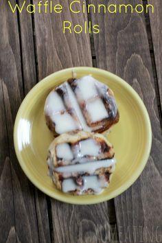 Waffle Cinnamon Roll