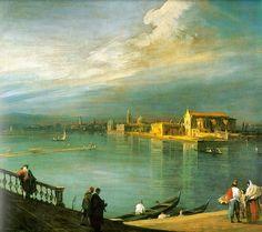 Canaletto - San Cristoforo, San Michele & Murano