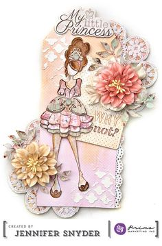 Scrap Escape: Julie Nutting Doll Stamps - Colors of the Seasons