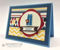 Created By-Mary Fish. Stampin' Up! Sale-a-Bration 2013