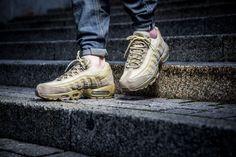 Nike Air Max 95 Premium Khaki Team Gold Mushroom | Footshop