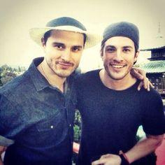 Instagram pic 27/6/14 Michael and Michael in LA.
