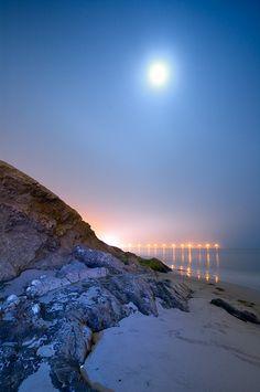 Goleta Beach Fog I  by Toby Keller