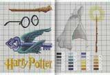 Schema punto croce Harry Potter 6