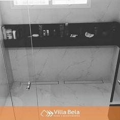"""37 curtidas, 1 comentários - Villa Bela Revestimentos (@villabelarevestimentos) no Instagram: """"Ralos Lineares Smart Oculto ambientados, sempre surpreendente nos projetos  E você só encontra…"""""""