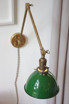 Articulating Industrial Wall Lamp O.C. White Style by LongMadeCo  https://www.etsy.com/uk/listing/177247799/industrial-pipe-pivoting-180-swivel?ref=shop_home_active_18