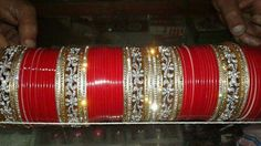 Wedding Chura, Wedding Wear, Wedding Bride, Dream Wedding, Punjabi Bride, Punjabi Wedding, Bridal Bangles, Wedding Jewelry, Bridal Chuda