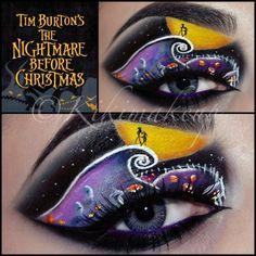 Halloween Eye Makeup, Halloween Eyes, Holiday Makeup, Halloween Foods, Halloween Design, Halloween Diy, Halloween Decorations, Dramatic Eye Makeup, Dramatic Eyes