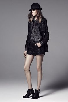 Rachel Zoe Pre-Fall 2013. I want everything in Rachel Zoe's collection and I want that hair more than anything.
