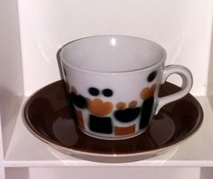 Arabian puhalluskoristeinen AA-mallin kahvikuppi 4
