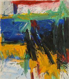 Willem De Kooning - Ruth's zowie 1957