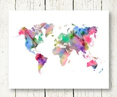 World map black print black map black map of the world wall art watercolor world map download colorful large wall art decor pink blue abstract printable digital file unique travel gift instant download gumiabroncs Images