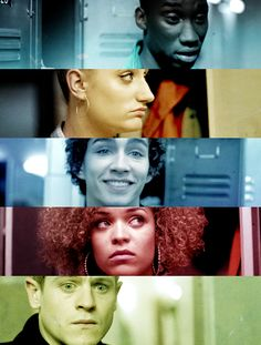 "another British tv show that's brilliant,  ""Misfits"".....a bunch of juvenile deliquents who are brought together through community service, and they have superpowers....."