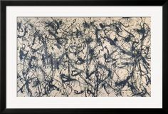 Number 32, 1950 Framed Art Print by Jackson Pollock at Art.com