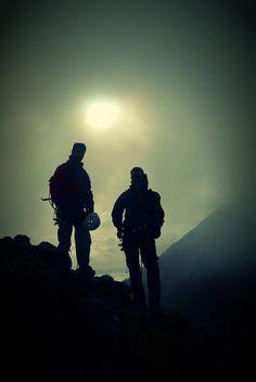 lust4mtns:  Mountaineers in Skye by varjakpaul on Flickr.